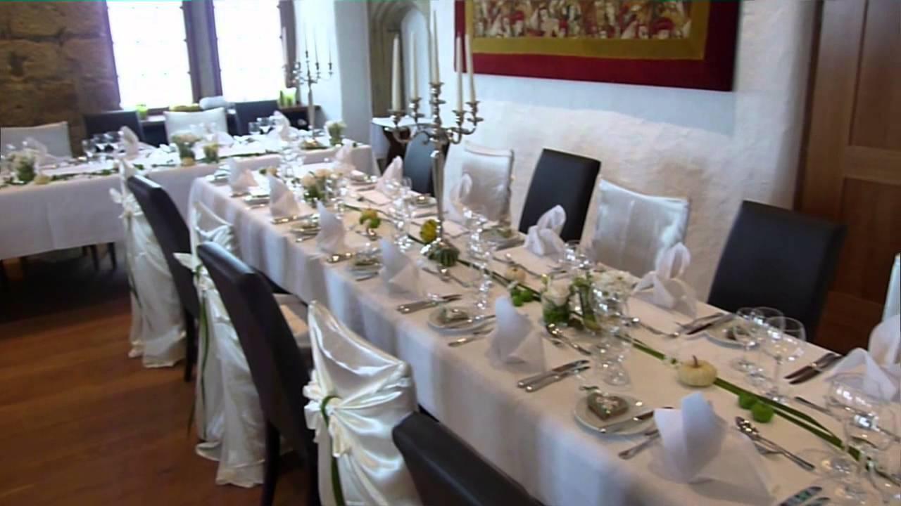 Hochzeit auf der Burg von Alesias Event  Deko Hochzeit