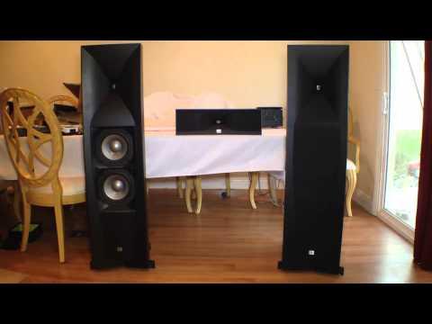 JBL Studio 590BK Speakers Review