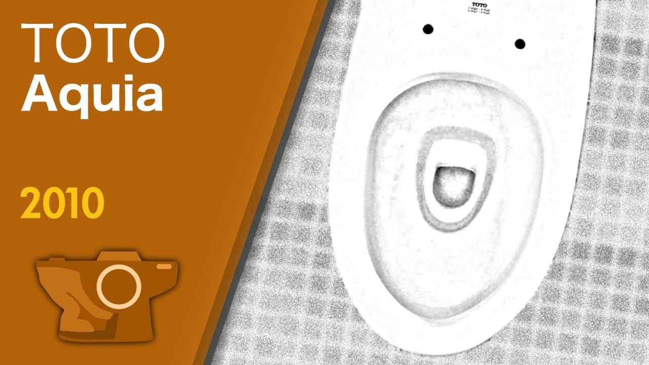 Unique TOTO Dual-Flush Aquia Toilet - 1.6 gpf / Late 2000s or newer ...
