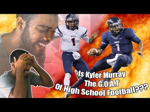 Is He The Best High School Football Player Ever???- Kyler Murray High School Highlights [Reaction]