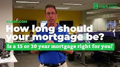 How long should your mortgage be?