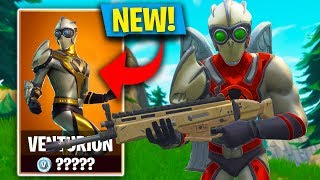 *NEW SUPERHERO SKIN* IN FORTNITE! VENTURION SKIN GAMEPLAY! (Fortnite: Battle Royale)