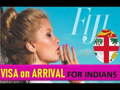 FIJI VISA ON ARRIVAL FOR INDIANS