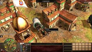 Das unsichtbare Dorfzentrum Best Of | Age of Empires III Bug Tarnkappendorfzentrum [Deutsch/HD]