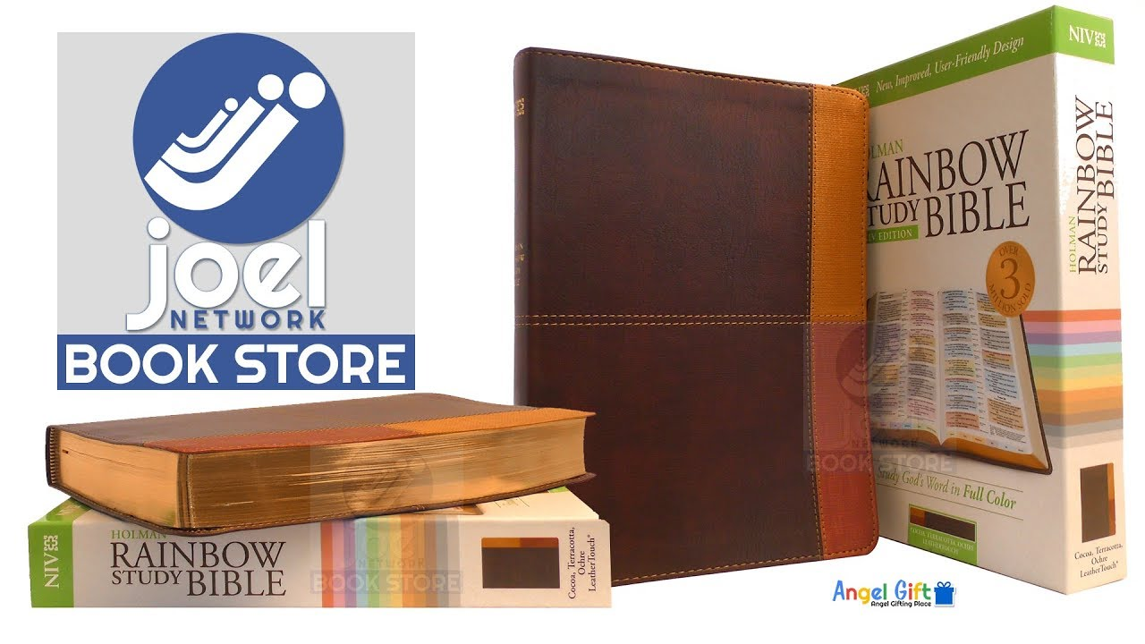 NIV Rainbow Study Bible, Saddle Brown LeatherTouch Indexed │ ISBN 13 9781433646119
