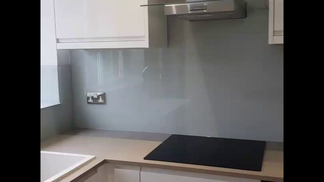 Glass Splashbacks, RAL 7035 GRIGIO LUCE - YouTube