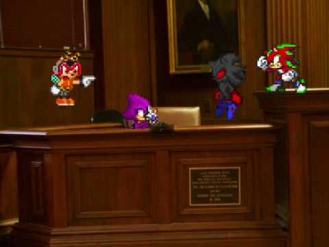 Hedgehog court: Brian vs Charmy