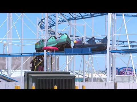 Riders Rescued After Daytona Roller Coaster Derails
