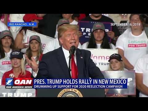 President Donald Trump, Rio Rancho, New Mexico Keep America Great Rally 09/16/19