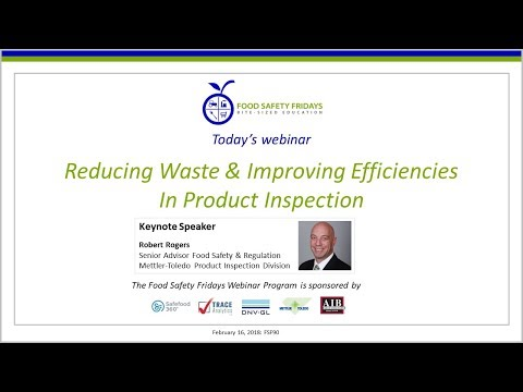 Reducing Waste & Improving Efficiencies In Product Inspection
