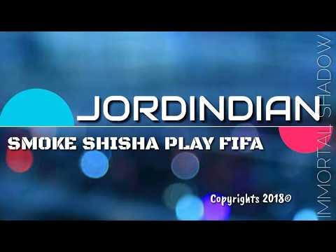 SMOKE SHISHA PLAY FIFA LYRICS - JORDINDIAN | LYRICAL VIDEO | #SSPF