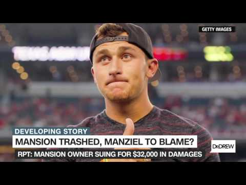 Johnny 'Football' sued for allegedly trashing Hollywood mansion