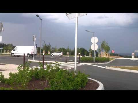 Storm aproach, Roanne France