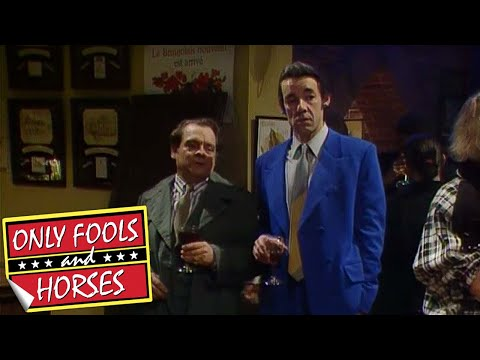 Del Boy Falls Through the Bar | Only Fools and Horses | BBC Comedy Greats