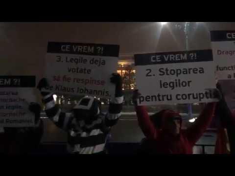 Proteste în favoarea statutul de drept în România și pro Kovesi (25.02.2018)