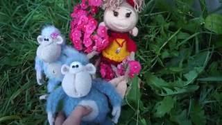 Вязание крючком: игрушки