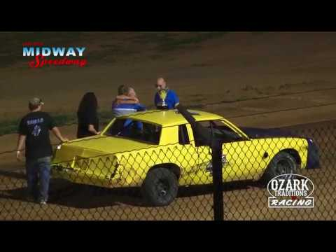 LEBANON MIDWAY SPEEDWAY - PURE STOCKS - FEATURE 7/6/18