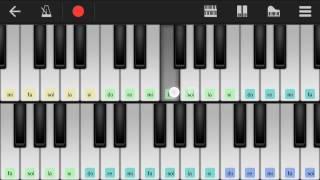 موسيقى اغنية انتي مشيتي على البيانو