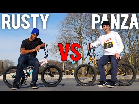 ANTHONY PANZA VS RUSTY GAME OF BIKE (2019)