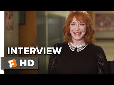 Fist Fight Interview - Christina Hendricks (2017) - Comedy