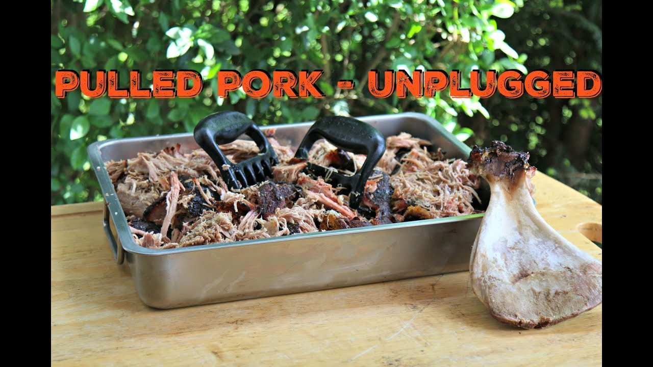 pulled pork unplugged 5 5 kg boston butt vom kugelgrill. Black Bedroom Furniture Sets. Home Design Ideas
