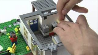 Lego® Creator Designer Tips -- Hillside House With Furniture