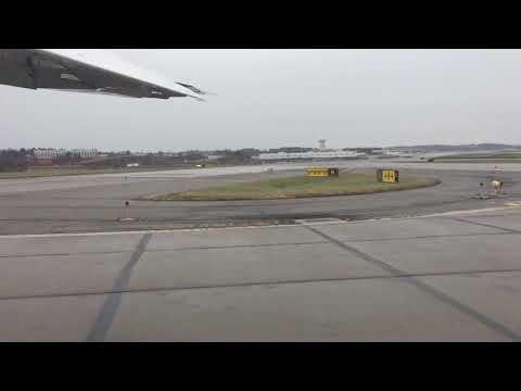 Southern Airways Express Caravan takeoff from Pittsburgh