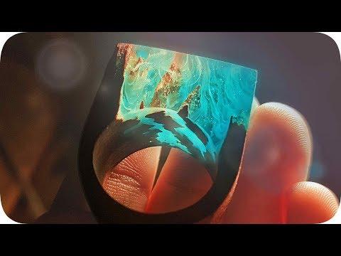 Мое второе эпоксидное кольцо - Своими ЛАПКАМИ 🐾