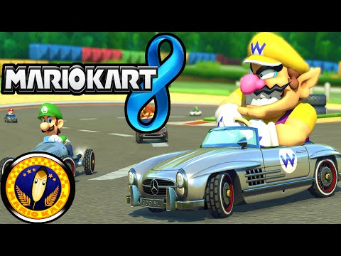 Mario Kart 8: Update 2.0! New DLC Mercedes, Yoshi & Shy Guy Colors, Map Gameplay Walkthrough Wii U