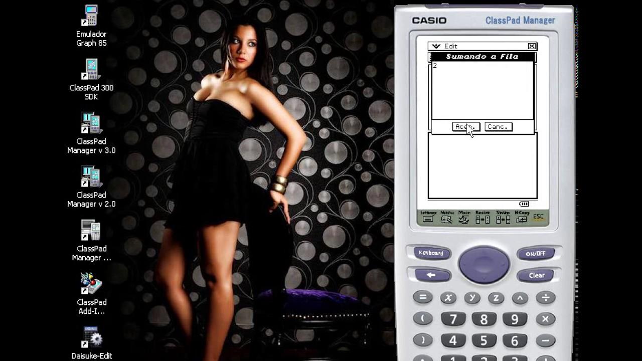emulador de calculadora casio classpad 330