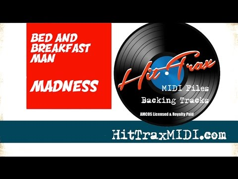 Bed and Breakfast Man MIDI File Backing Track