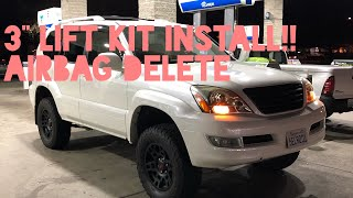"How to Install a 3"" Lift Kit and UCA on a Lexus GX470"