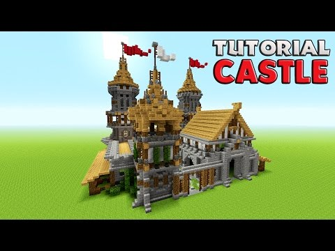 Minecraft: How To Build A Castle Tutorial   Barracks tutorial ( Medieval ) Survival castle