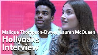 Prince McQueen and Lily McQueen Hollyoaks Interview | Metro.co.uk