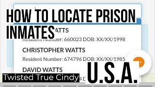 How to Locate any U.S. Prison Inmate using ACCESS CORRECTIONS