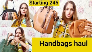 Meesho Affordable Handbags👜 start at 245/- Latest bags...