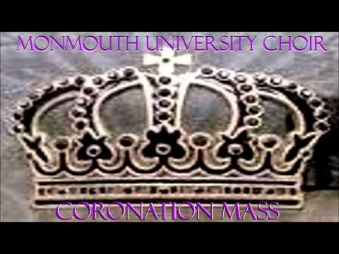 "Monmouth University Choir - ""Mozart's Coronation Mass"""