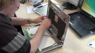 Display Deckel Tausch (Fujitsu Siemens Notebook / Laptop)