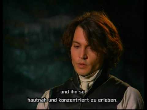 Johnny Depp interview on Sleepy Hollow