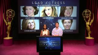 The 64th Annual Primetime Emmy Awards 2012 Nominees