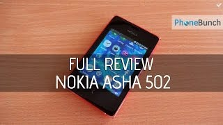 Nokia Asha 502 Full Review