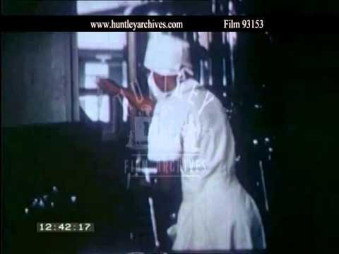 Medicine in Liberia in the late 1940's.  Archive film 93153