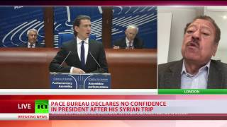 PACE bureau declares 'no confidence' in president after Syrian trip