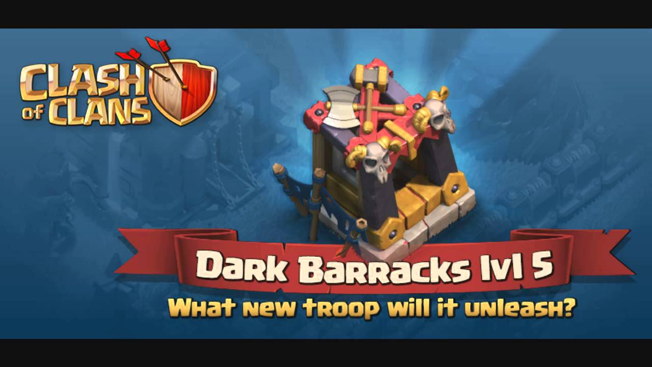 Diskripsi And History Troops Witch Dark Barrack Clash Of ...