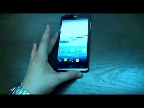 Acer Liquid S1 Hands On | English