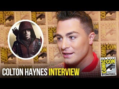 Colton Haynes Teases Roy Harper's Return in ARROW Season 7 at Comic Con 2018
