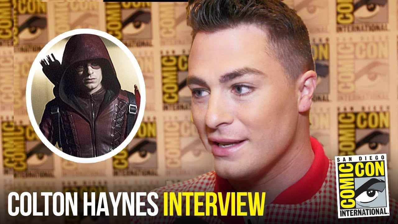 Colton Haynes Teases Roy Harper's Return in ARROW Season 7 at Comic Con 2018