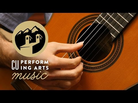 Faculty Tuesday: Ritter Family Classical Guitar Faculty
