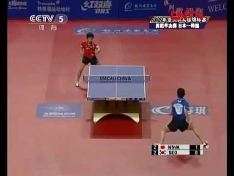 Asian Champions 2012 - Koki Niwa(JAP) x Seo Hyun Deok(KOR)