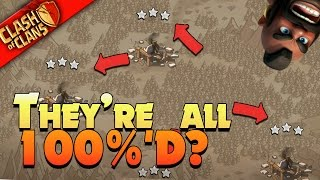 "Clash of Clans: ""THEY ALL GET 3 STARRED! (OR DO THEY?) WE WAR LIVE"